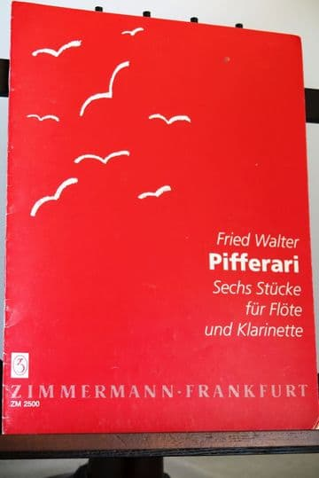 Walter F - Pifferari - 6 Pieces for Flute & Clarinet