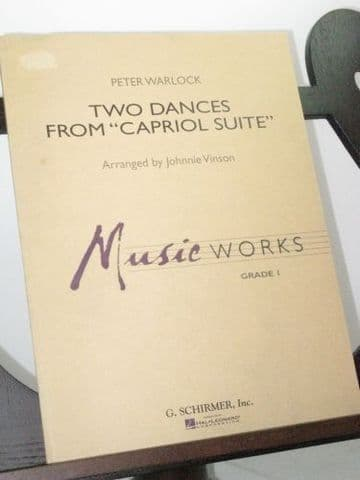 Warlock P - Two Dances from Capriol Suite arr Vinson J