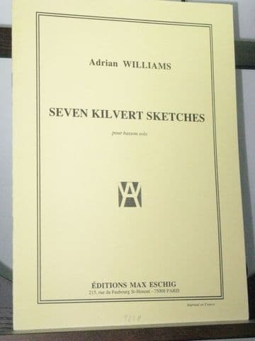 Williams A - Seven Kilvert Sketches for Bassoon Solo