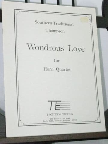 Wondrous Love arr Thompson D B