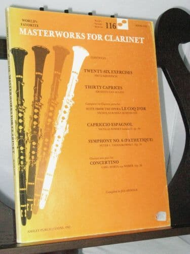 World's Favorite Masterpieces for Clarinet