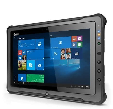Getac F110 G3 Basic Windows 10 Core™ i5-6200U 2.3GHz 4GB 128GB SSD Multi-touch TS 8 MP AF Camera - New