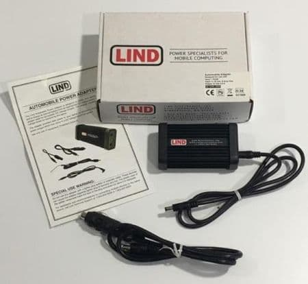 Lind 12V DC Vehicle Adapter GE1245-3509 Getac PS236 PS336 Z710 PDA Car Charger - New   Go-Rugged