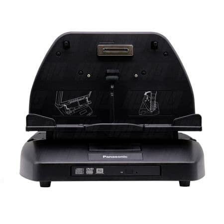 Panasonic Toughbook CF-D1 Docking Station Cradle with DVD Drive CF-VEBD11 - Used | Go-Rugged