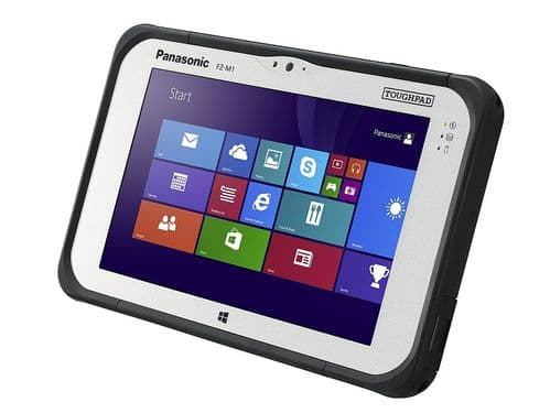 Panasonic Toughpad FZ-M1 Mk2 with 4G Dual Pass-Through Windows 10 m5-6Y57 vPro 4GB 128GB SSD - New