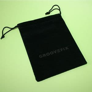 GrooveFix Faux Suede gift pouch/tee bag