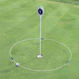 Ring-O  'Floating' target ring for putting and chipping