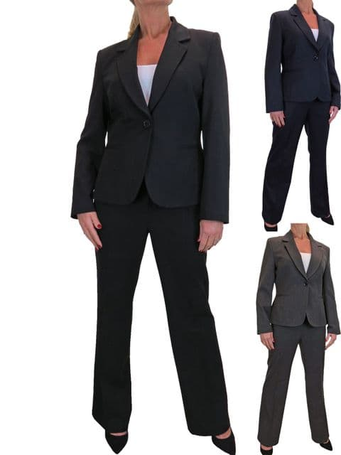 Smart Business Jacket Trouser Suit