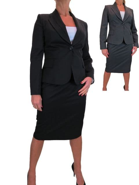 Smart Business Office Blazer Jacket Skirt Suit