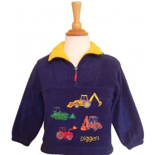 British Country Collection Diggers Fleece