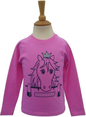 British Country Collection 'Princess' Long Sleeve Tee 2-3yrs