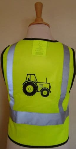 British Country Collection Tractor Hi-Viz Vest