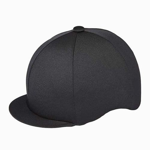 Capz Lycra Hat Cover in Black