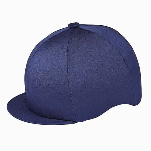 Capz Lycra Hat Cover in Navy
