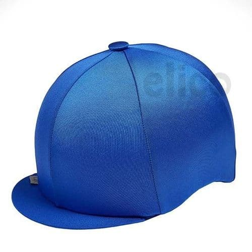 Capz Lycra Hat Cover in Royal Blue