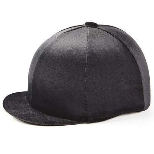 Capz Velour Hat Cover in Black