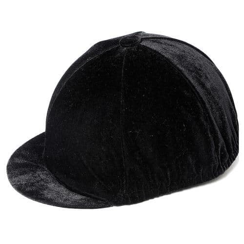 Carrots Plain Black Velvet Hat Cover