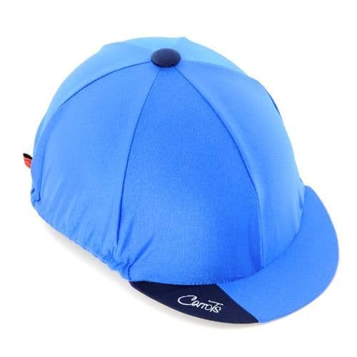 Carrots Plain Blue Hat Cover