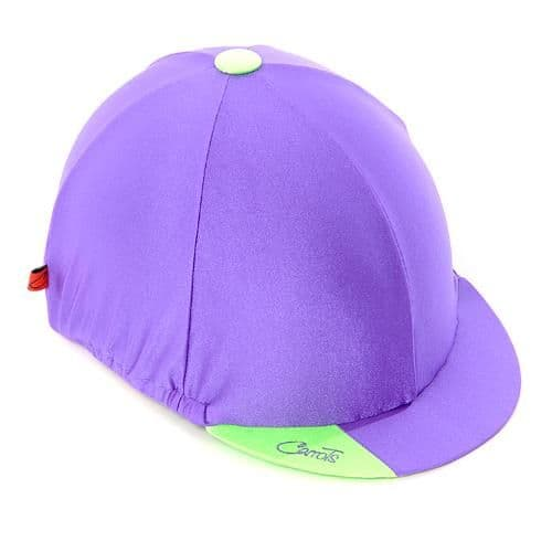 Carrots Plain Purple Hat Cover