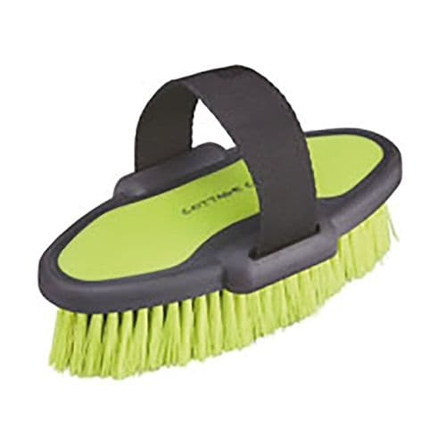 Cottage Craft Body Brush DM Small in Neon Green