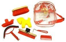 Cottage Craft Grooming Kit in Red