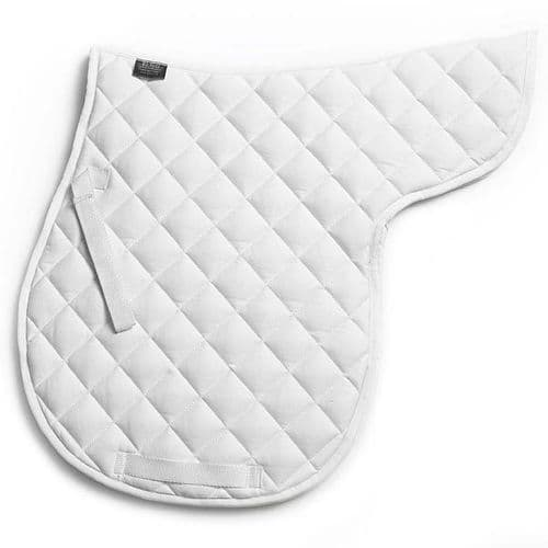 Elico Quilted Numnah in White (Pony)