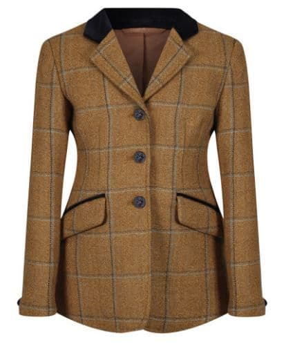 """Equetech Junior Studham Tweed Riding Jacket - 22"""" only"""