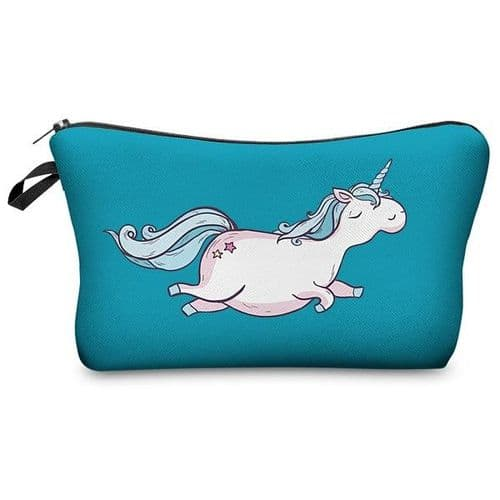 Fringoo Aqua Pencil Case with Unicorn