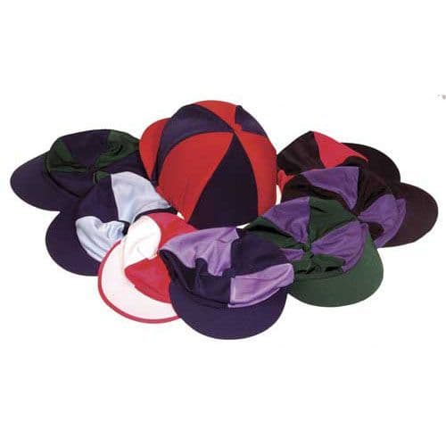 Harlequin Quartered Lycra Hat Silk - 3 Colours!