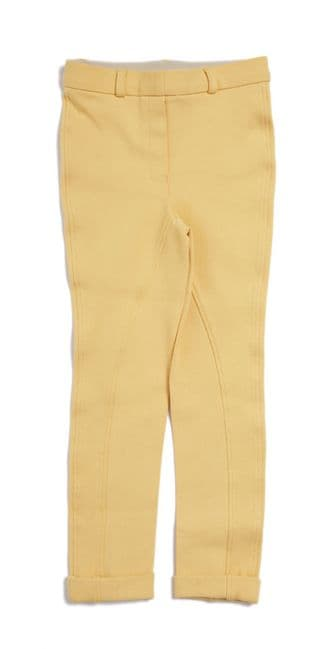 Harry Hall Chester GVP Childs Jodhpurs in Canary size 20