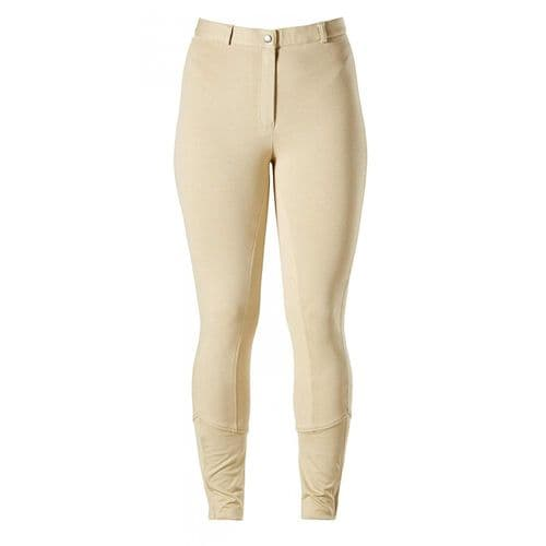 Harry Hall Junior Chester Breeches with Sticky Bum Seat in Beige