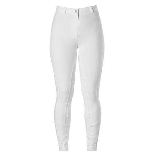 Harry Hall Junior Chester Breeches with Sticky Bum Seat in White
