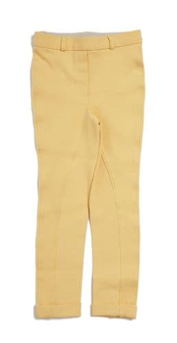 Harry Hall Junior Chester Jodhpurs & Breeches with Sticky Bum Seat in Canary