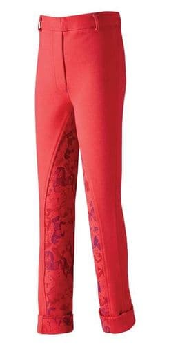Harry Hall Todwick Junior Jodhpurs in Pink