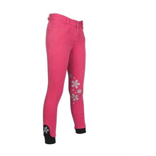 HKM 'Leni' Riding Breeches with Silicon Knee Patch