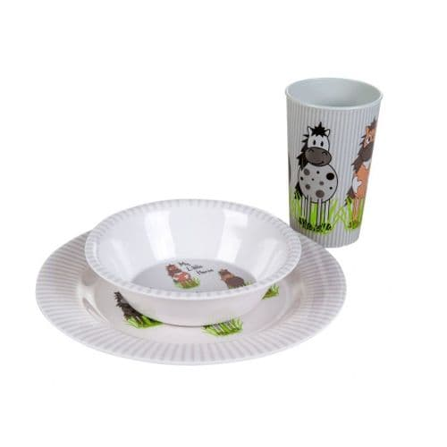 HKM 'Little Horses' Breakfast Set