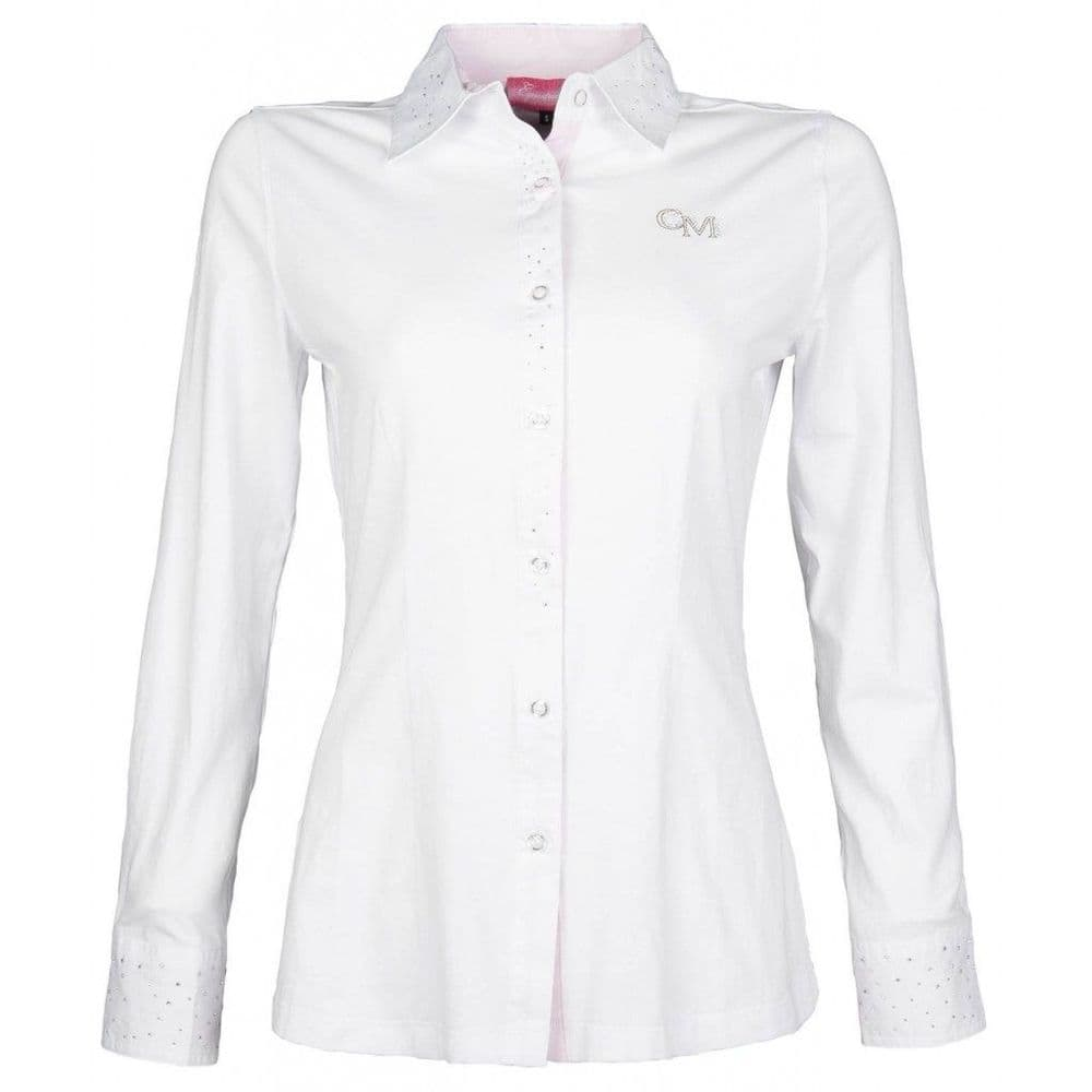 HKM Rimini Competition Blouse with Crystals