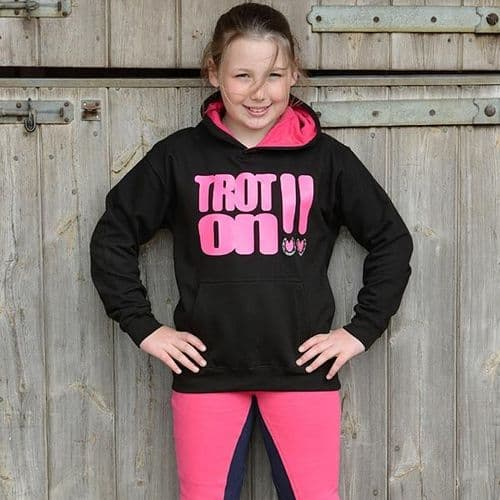 Horses With Attitude Trot-On Hoodie 5-6yrs