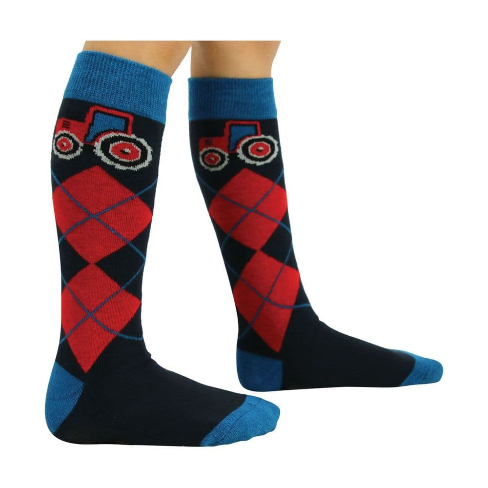 Hy Equestrian Tractors Rock Socks (Pack of 3) Child size 8-12