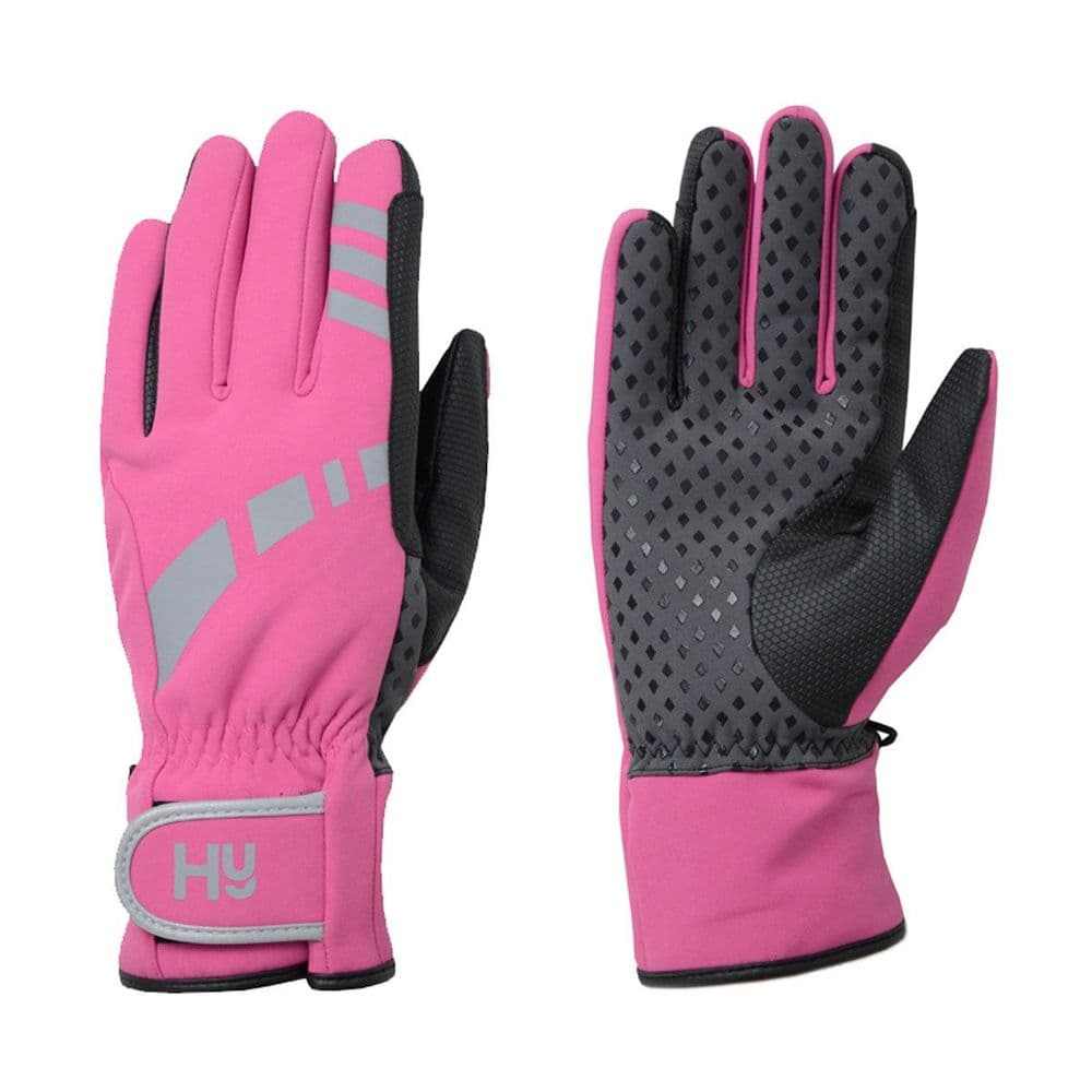 Hy Equestrian Winter Reflective Waterproof Gloves