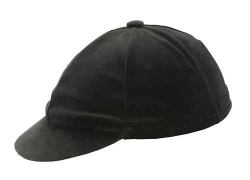 Hy Velvet Hat Cover in Black