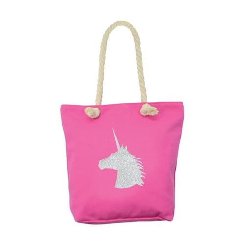 HyFASHION Unicorn Tote Bag in Pink