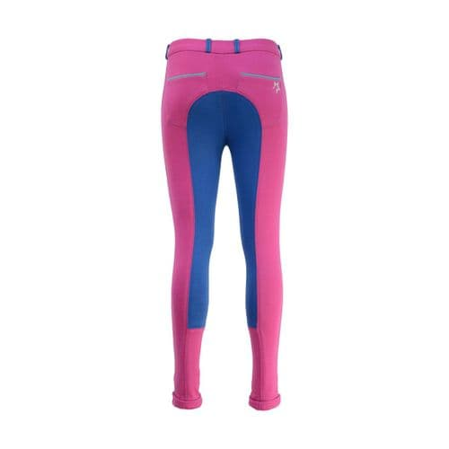 HyPerfomance Zeddy Mizs Jodhpurs in Flamingo Pink