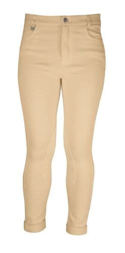 HyPERFORMANCE Child's Melton Showing Jodhpurs in Beige