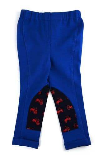HyPERFORMANCE Navy/Red Tractor Tots Jodhpurs