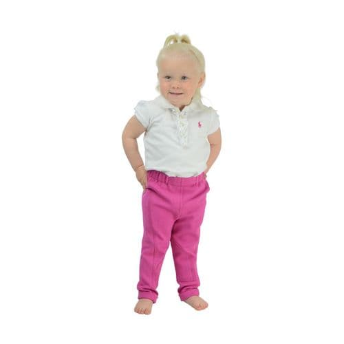 HyPERFORMANCE Zeddy Tots Jodhpurs in Flamingo Pink