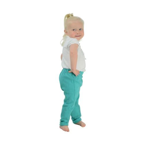 HyPERFORMANCE Zeddy Tots Unisex Jodhpurs in Turquoise