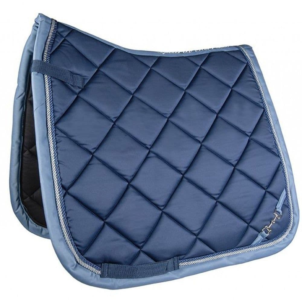 Lauria Garrelli Golden Gate (Bit) Saddle Cloth in Blue - Pony GP