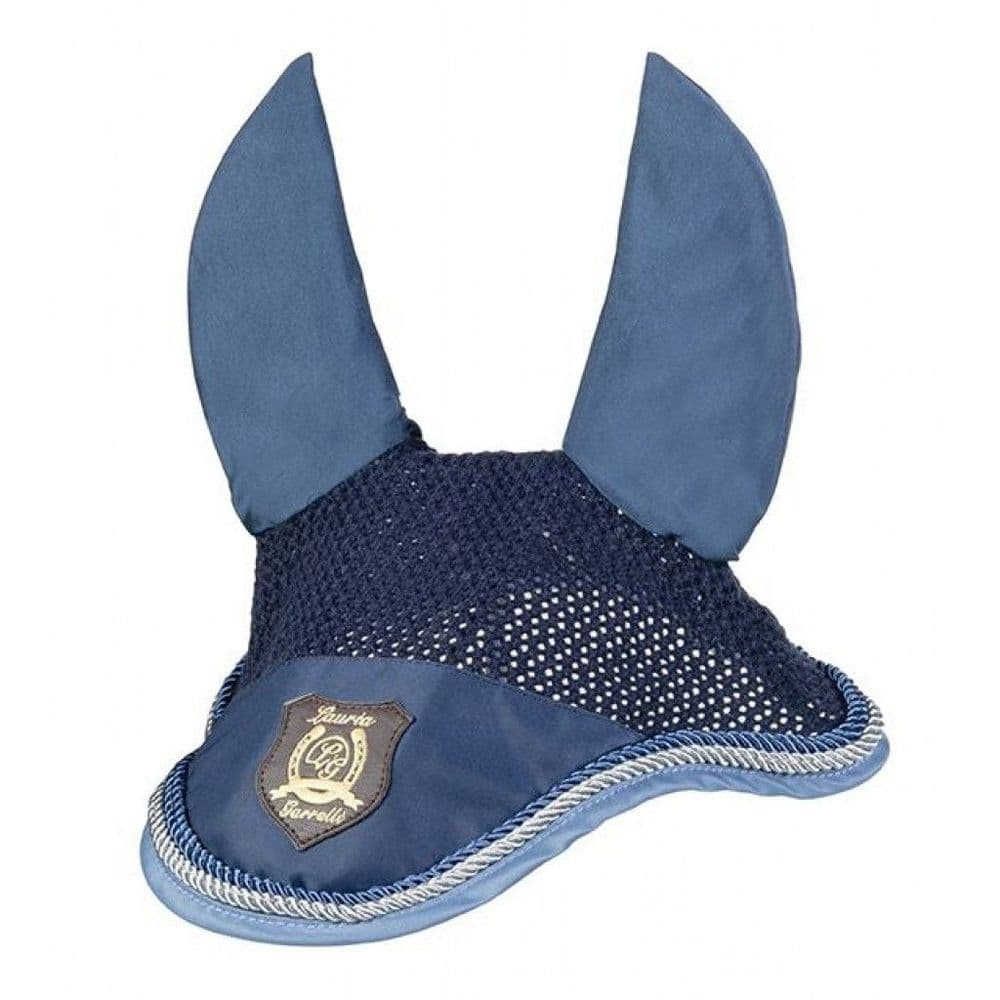 Lauria Garrelli Golden Gate Ear Bonnet in Blue - Pony Size