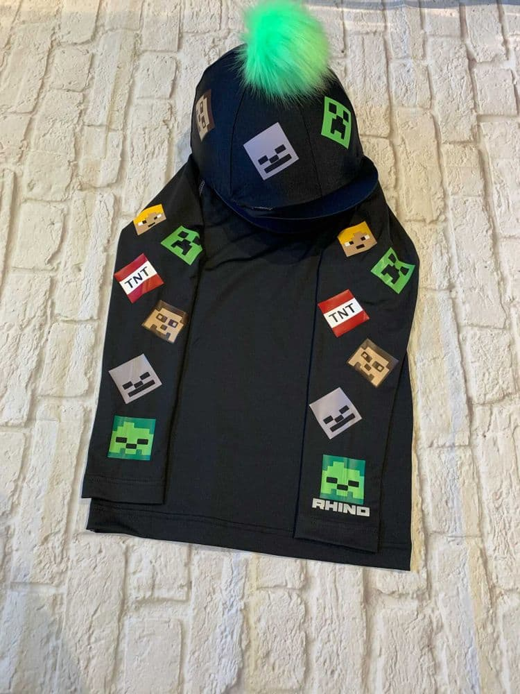 Minecraft Base Layer & Hat Cover Set